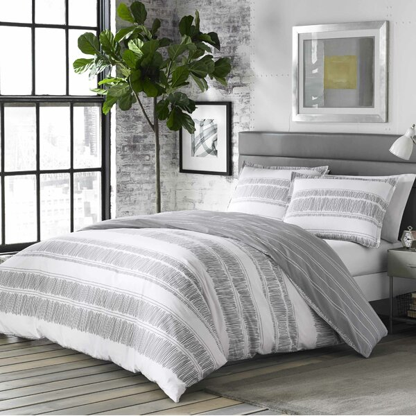Barger 100% Cotton Reversible Comforter Set by Wad
